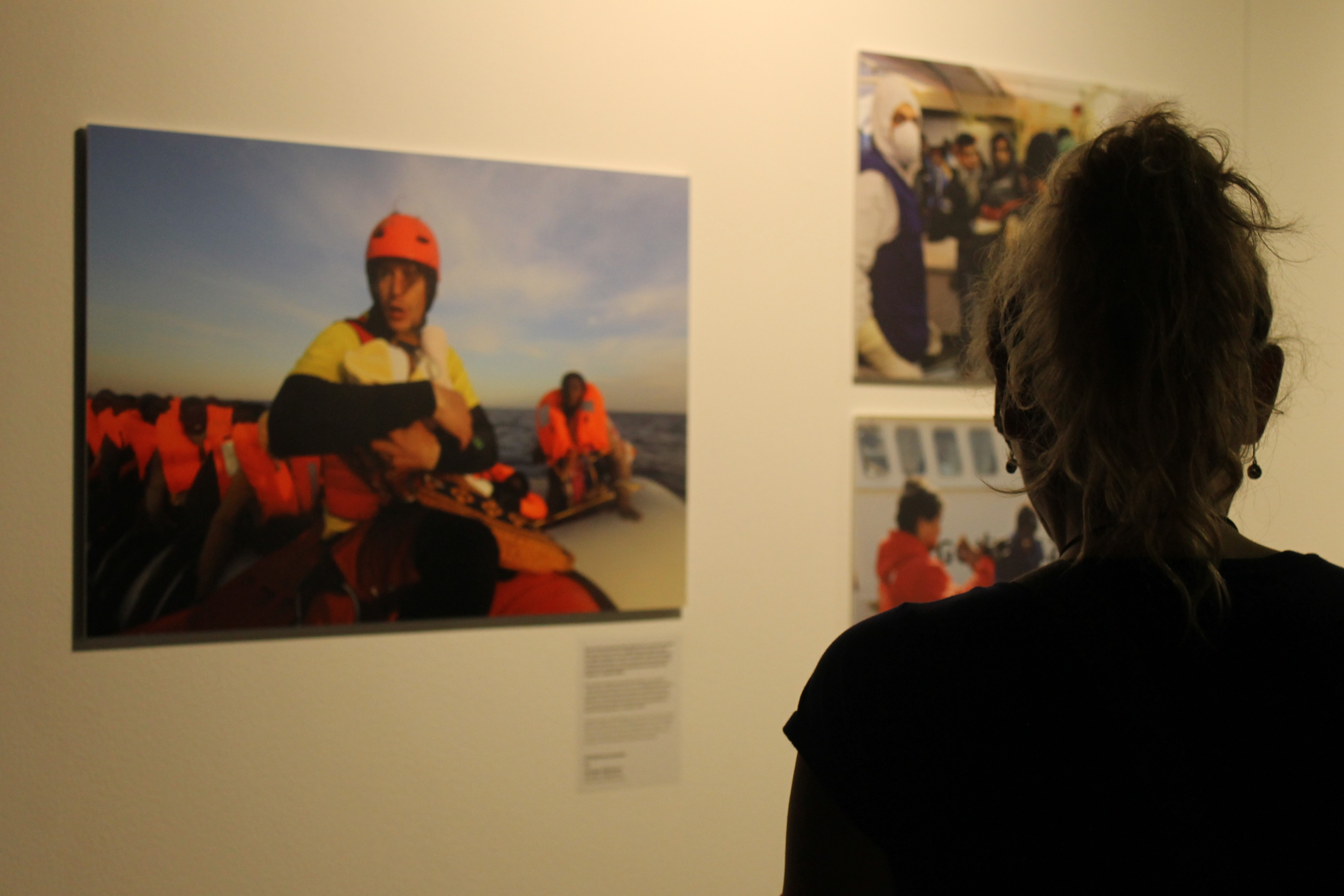 Pictures of the exhibition. | Andrea Ariet