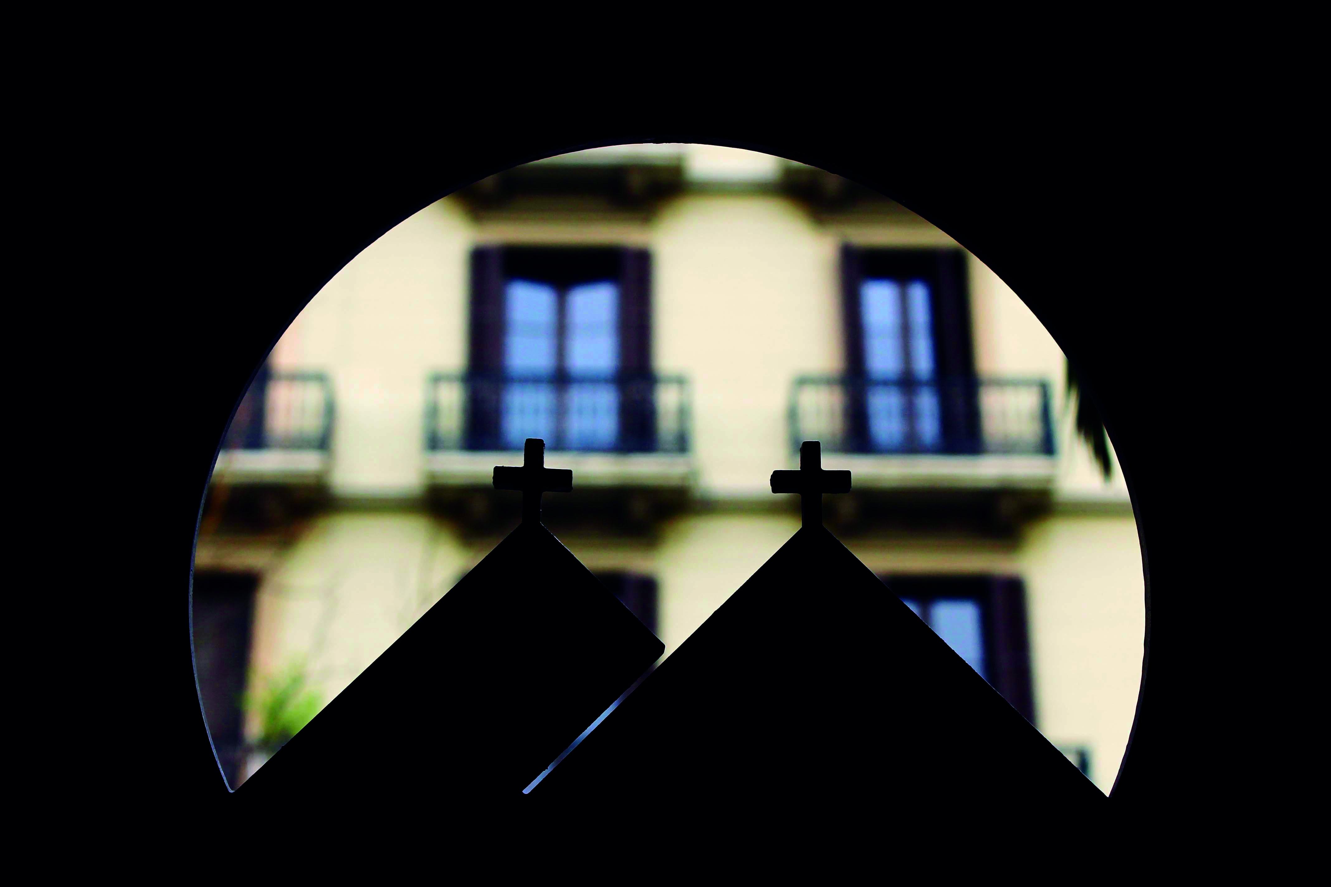 13. Detalle del símbolo característico del Seminario Conciliar de Barcelona